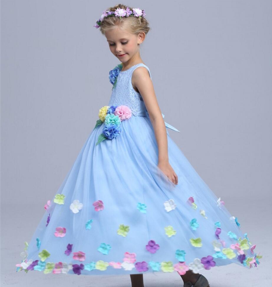 Berühmt Blau Party Kleider Für Mädchen Bilder - Brautkleider Ideen ...