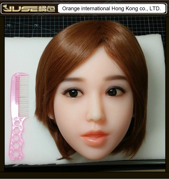 2016 NEW HOT oral sex doll head, lifelike open mouth head for full body love dolls,doll head #53 oral sex toys for man, HD-024