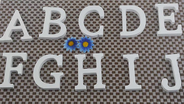 1 шт. дома декабря 8x6.5 см деревянные письмо 26 деревянные буквы английского алфавита дома Свадебная вечеринка украшения DIY мастерства украшения