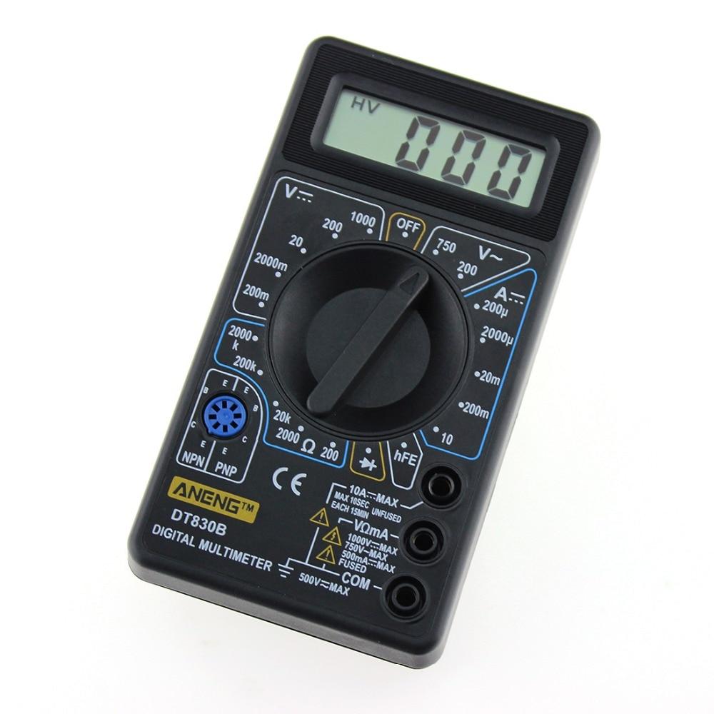 1 PC AAA Qualità Nuovo multimetro digitale LCD LCD AC / DC - Strumenti di misura - Fotografia 4