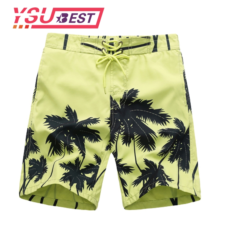 2019   Shorts   Boys Children Board   Shorts   Boys Casual Swimming Trunks Kids Clothing Fashion Style Quick Drying   Short   Coconut Trees
