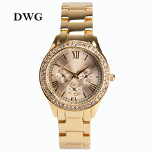 Adjustable Casual Gold Bracelet Watch Women Rhinestone Watches Women Elegant Quartz Wrist Watch Women Relojes Mujer Montre Femme