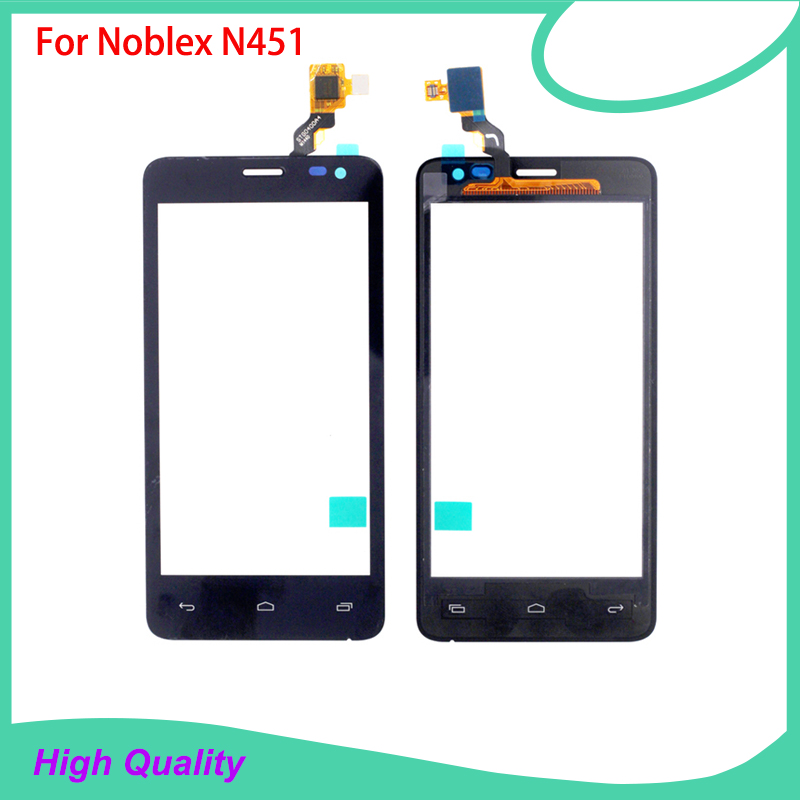 Original Touch Screen Digitizer Assembly For Noblex N451 STG0400A4 100%Guarantee Hot Selling Mobile Phone Touch Panel Free Tools