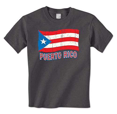 d63b6160f man t shirt Puerto Rico Wavings Rican Flag National Pride Country Mens T- Shirt