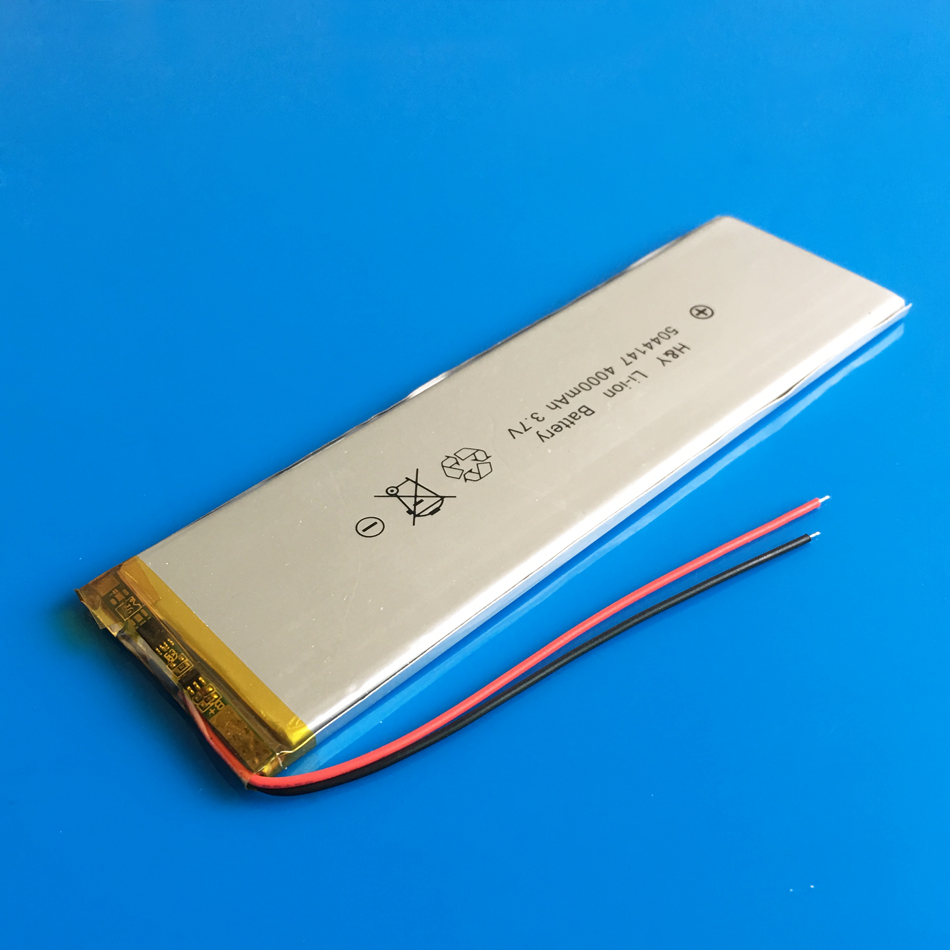 5044147 <font><b>3.7V</b></font> <font><b>4000mAh</b></font> lithium polymer rechargeable <font><b>battery</b></font> <font><b>Lipo</b></font> for GPS DVD PAD power bank e-book camera tablet PC laptop image