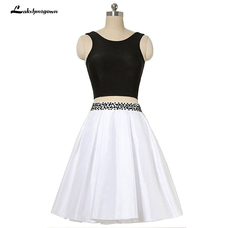 Plus Size Prom Dresses With Beading Knee Length Short Party Prom