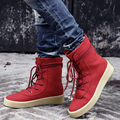 Women's Boots Furry Shoes Winter Snow Boot Season Faux Suede Leather Kanye West Crepe Boot Women Rubber Botas Chelsea Boots