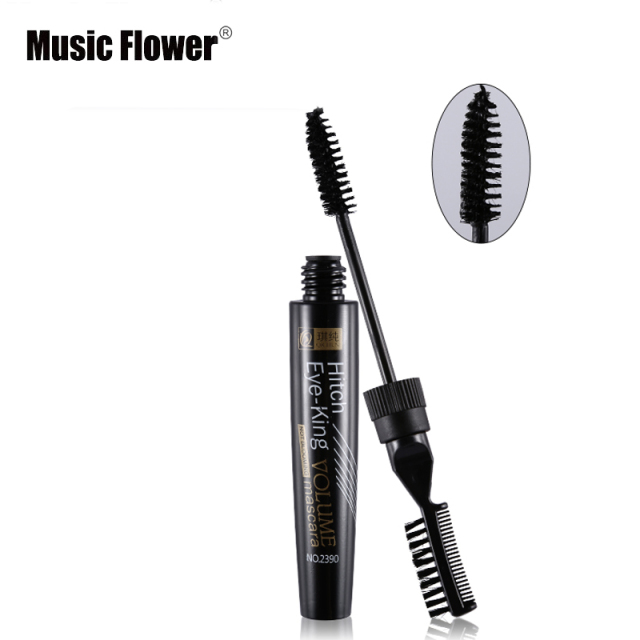 Music Flower Volume Curled Lashes Black Blue Purple Mascara