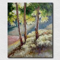 Country landscape pictures oil painting for living room high quality reproduction oil painting on canvas for home