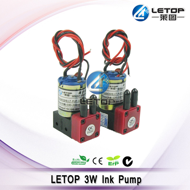 8pcs/lot free shipping!!  100 200ml/min, 3W, 24V DC printer ink pump for infiniti crystaljet jhf allwin solvent-in Printer Parts from Computer & Office    1