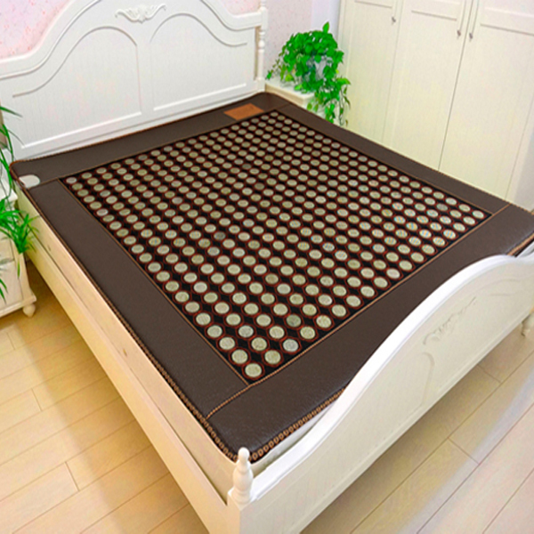 Free Shipping! Natural Tourmaline Cushion Jade Heat Mat Physical Therapy Health Care Tourmaline Mat Yoga Pad Heat AC220 For Sale good quality natural jade mat tourmaline heat chair cushion far infrared heat pad health care mat ac220v 45 45cm free shipping