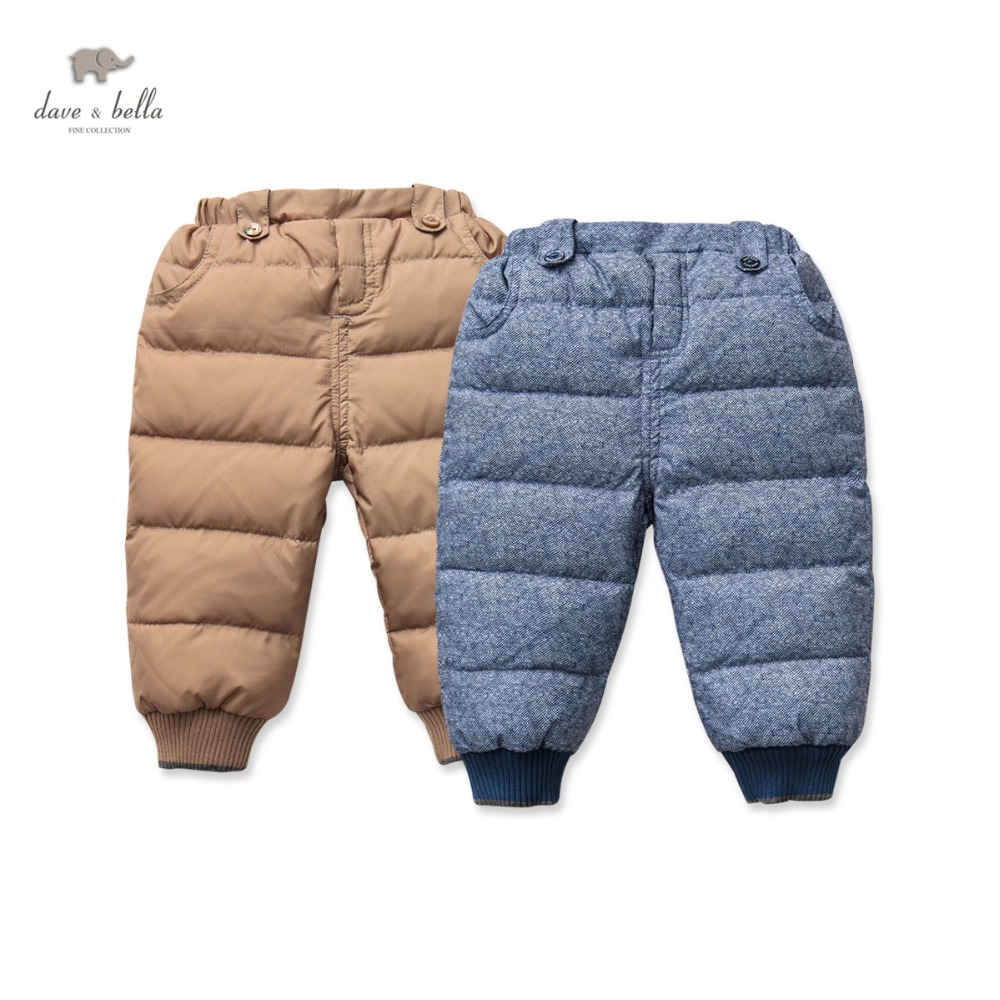 DB3283 dave bella winter baby boys pants baby boys padded trousers kids pants kids trousers children pants db5612 dave bella winter baby boys full length kids fashion plaid pants children trousers