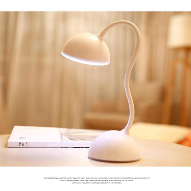 Гибкие СВЕТОДИОДНЫЕ USB Аккумуляторная Свет Книга Настольная Лампа Для Ноутбука Ноутбук Компьютер Прикроватные Исследование Чтение Освещение