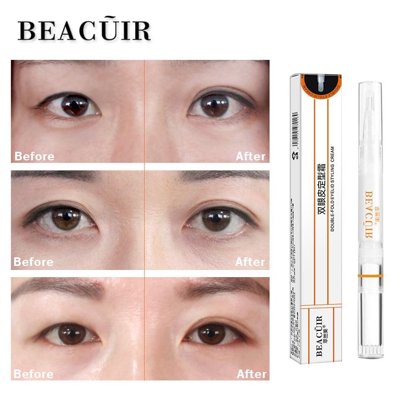 BEACUIR Double eyelid styling cream Eye serum lasting big eyes natural skin care new 2019