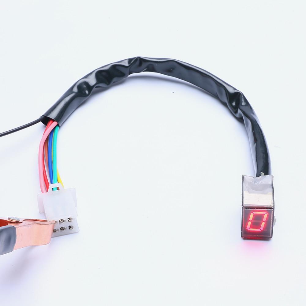Hot Super Speed LED Қызыл жарық Universal Digital - Мотоцикл аксессуарлары мен бөлшектер - фото 2