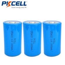 3 шт. * PKCELL er34615m литиевых Батарея 3.6 В 19000 мАч er34615 D Размеры высокой энергии Батареи для Спецодежда медицинская Инструменты