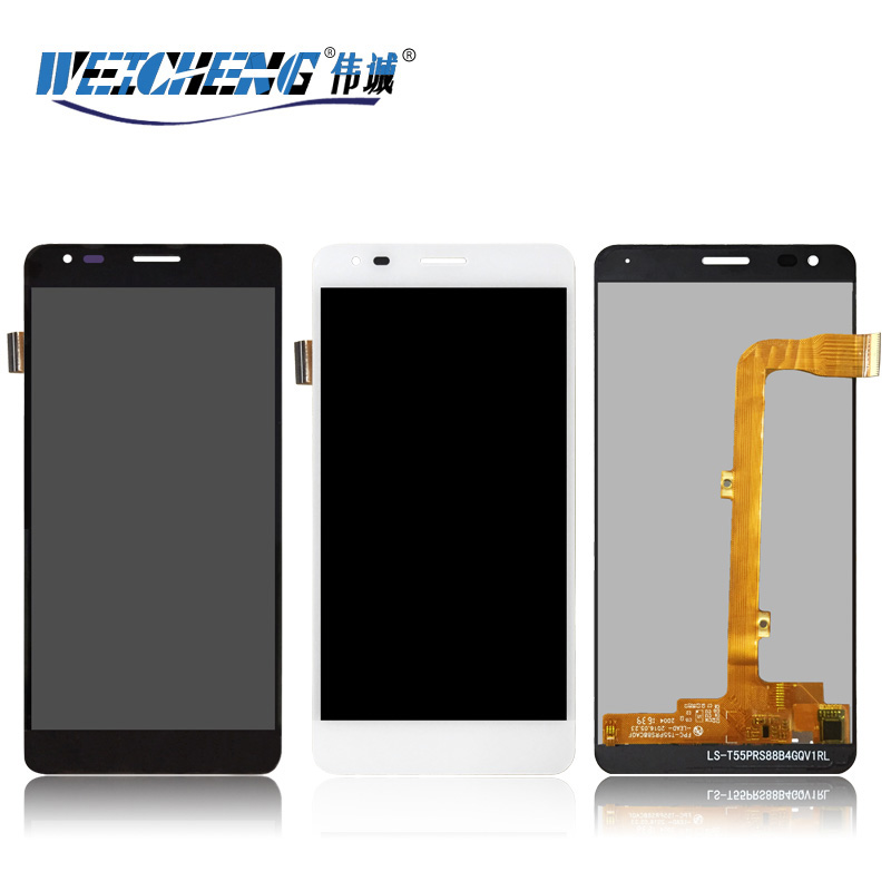 WEICHENG For Wileyfox Spark X LCD Display and Touch Screen Assembly Accessories For Spark X lcd+free Tools+Adhesive