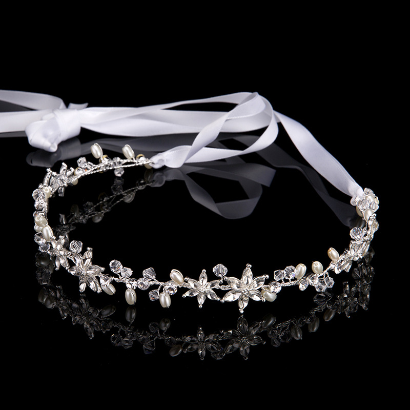 Online Get Cheap Ribbon Bridal Headband Aliexpresscom Alibaba