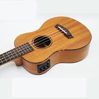 Afanti музыка Электрогитары/красное дерево/26 дюймов Гавайские гитары укулеле (dga 163)