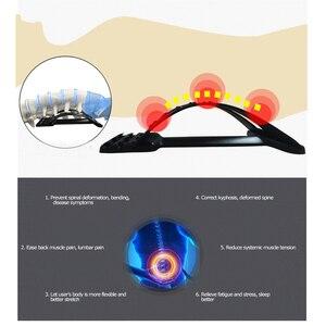 Image 4 - ストレッチ機器バックマッサージ魔法ストレッチャフィットネス腰椎サポートリラクゼーションメイト脊椎痛みカイロプラクターメッセージ