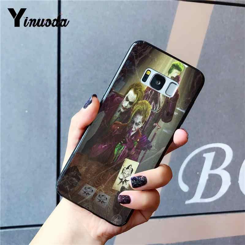 Yinuoda ジョーカー耐震高級ユニークなデザイン電話ケース三星銀河 Note4 Note3 Note2 Note5 Note7 Note8 Note9