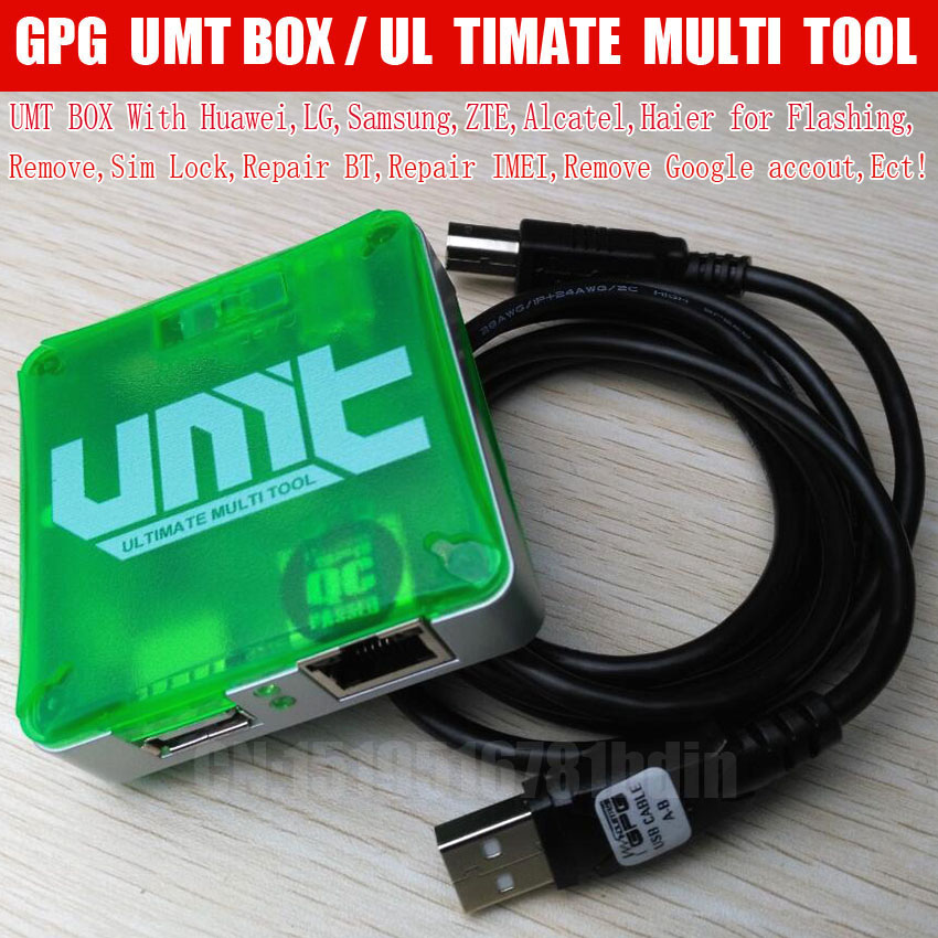 Free Shipping  UMT Box For Cdma Unlock ,flash, Sim Lock Remove,Repair IMEI, Ect,-in Communications Parts from Cellphones & Telecommunications