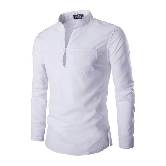 Повседневный Длинным Рукавом Смокинг Мужская Clothing одежда мужской Дизайнерский Бренд Tommis Мода Белый Черный мужская Рубашка z5
