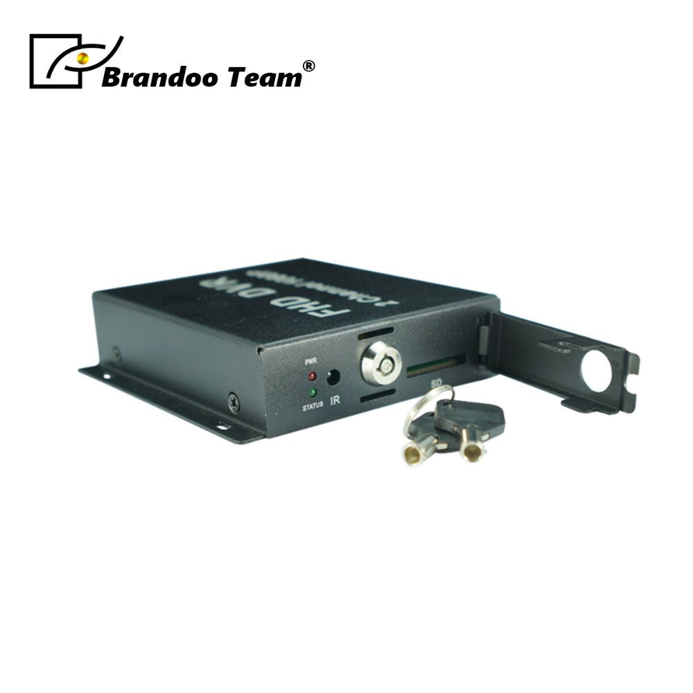 FHD DVR Recorder HD 1080P Support SD Card 128GB Real time 2Ch CCTV DVR Video Compression Motion Detection 2ch mini mobile dvr real time hd d1 2 channel sd dvr support 128gb sd card