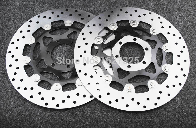 Новый мотоцикл передние дисковые Роторы для YAMAHA содержащие 400 93-99 Универсэл