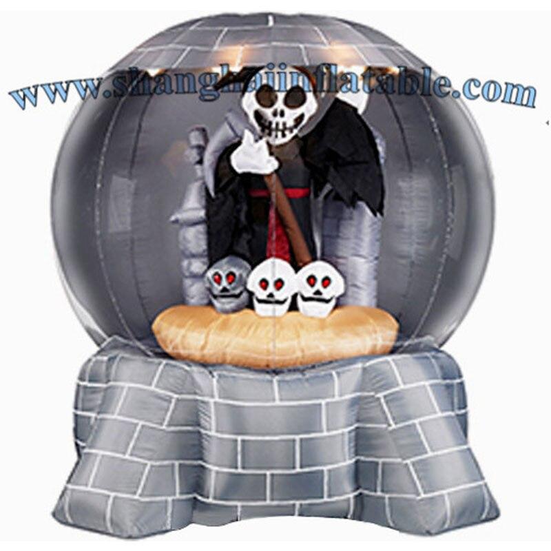 Inflatable Snow Globe for HalloweenInflatable Snow Globe for Halloween