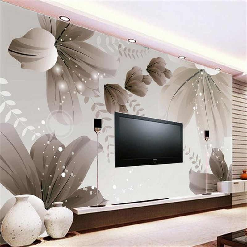 custom 3d HD stereoscopic minimalist modern wallpaper Chinese ink painting flowers large domestic wallpaper TV background mural flowers butterflies stereoscopic 3d block large mural 3d wallpaper bedroom room backdrop painting three dimensional 3d wallpaper