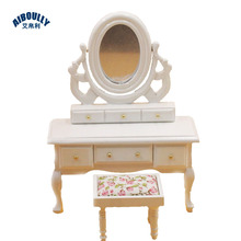 Ordinaire 1:12 Doll House Dollhouse Mini Wooden Small Furniture Model Play House Toy White  Dressing