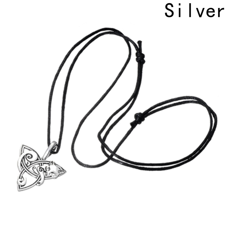 New Fashion Long Necklace Animal Fox Necklace Charm Jewelry For Woman Man Gifts China Style line art
