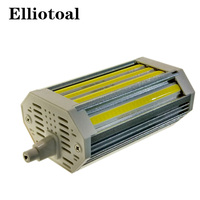 DHL Free Shipping R7s 118mm 30W Dimmable Led Cob R7s Light For AC100 250V 3 Years