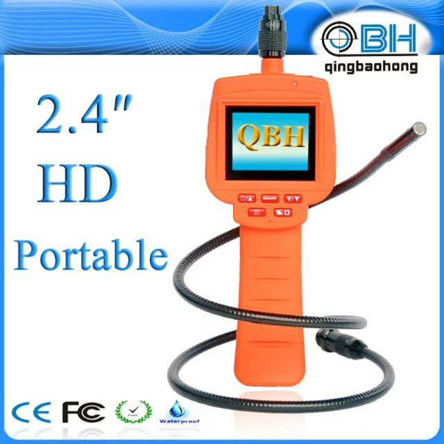 цена на 9mm 300,000 Pixels AV Handheld Endoscope Camera CMOS Borescope