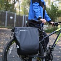 20L Duża Rowerów Rack Bag Sakwy Wodoodporne Tylne Trunk Torby ROSWHEEL Rowerów MTB Kolarstwo Rowerów Bagażnik dla BMX