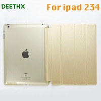 DEETHX Hot Tablet Case Ultra Slim Four Fold PU Leather Hard Back Smart Stand Case Cover