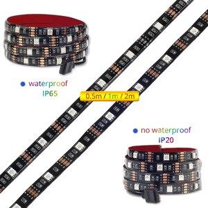 Image 2 - テレビバックライト rgb led ストリップ 5050 防水 5 v usb led テープストリング照明 app の bluetooth テレビ pc モニターの装飾