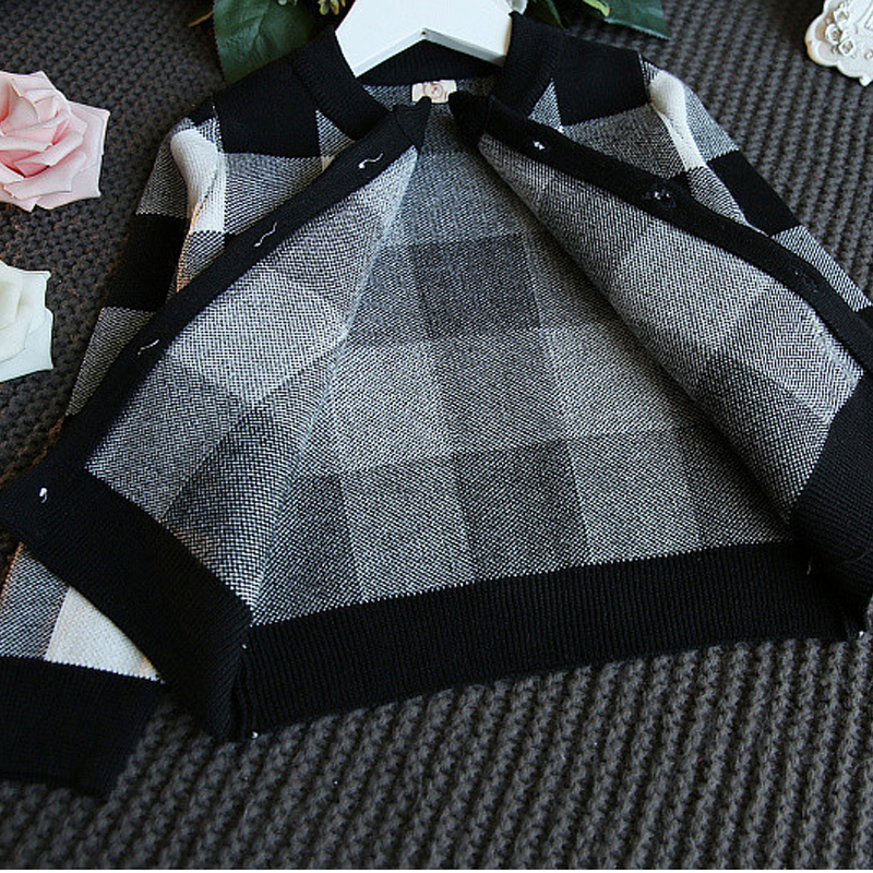 Image 5 - Humor Bear Autumn 2019 New Girls Clothing Sets Casual Long Sleeve Plaid Jackets+Skits 2Pcs Suits for Kids Set-in Clothing Sets from Mother & Kids