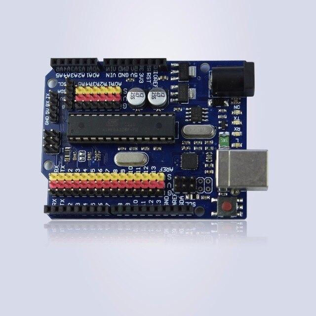 Новый UNO R3 доска ATmega328P ATmega16U2 (не нужно щит Для Arduino Совместимый