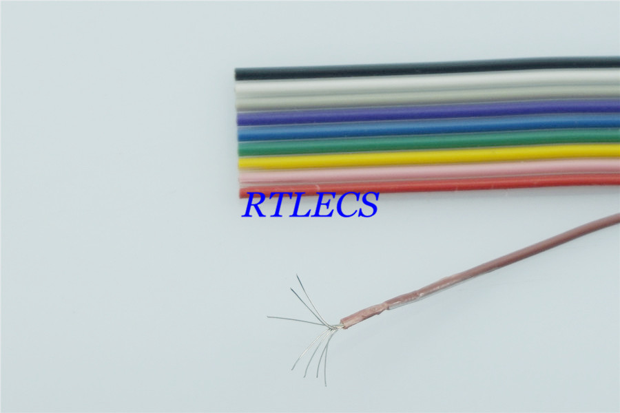 1 mt DIY 10 Pin 1,27mm Pitch Farbe Regenbogen band kabel Kabel Draht ...
