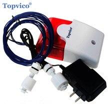 Water Lekkage Overloop Alarm Sensor Detector 110dB Voice 1.0m Kabel Hoge Lage Waterstand Home Security Alarm Systeem