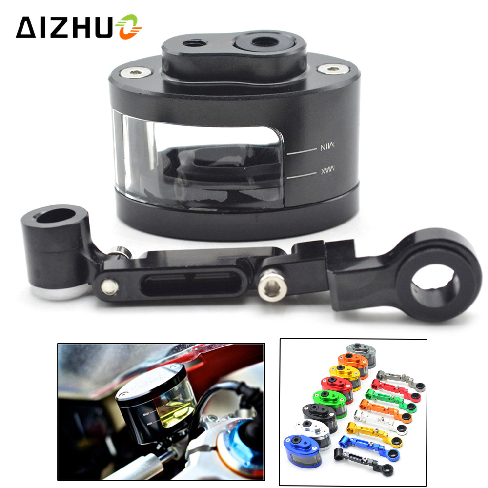 Motorcycle Reservoir Brake Pump Clutch Tank Cylinder Fluid Oil Cup FOR HONDA NC23 NC29 35 VFR400 800 1200 NC30 RVF400 CBR900 400 in Covers Ornamental Mouldings from Automobiles Motorcycles