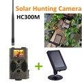 HC300M камера для спортивной охоты MMS GPRS с солнечной панелью зарядное устройство фото ловушки установка солнечной энергии Дикая камера CE ROHS