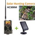 HC300M Nachtzicht Hunting Game Camera MMS GPRS Met Zonnepaneel Oplader Foto Vallen Solar power pack wilde camera CE ROHS