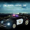 1:58 Speed Radio Remote Rechargeable Mini RC Police Car w/ Light&Music Toys
