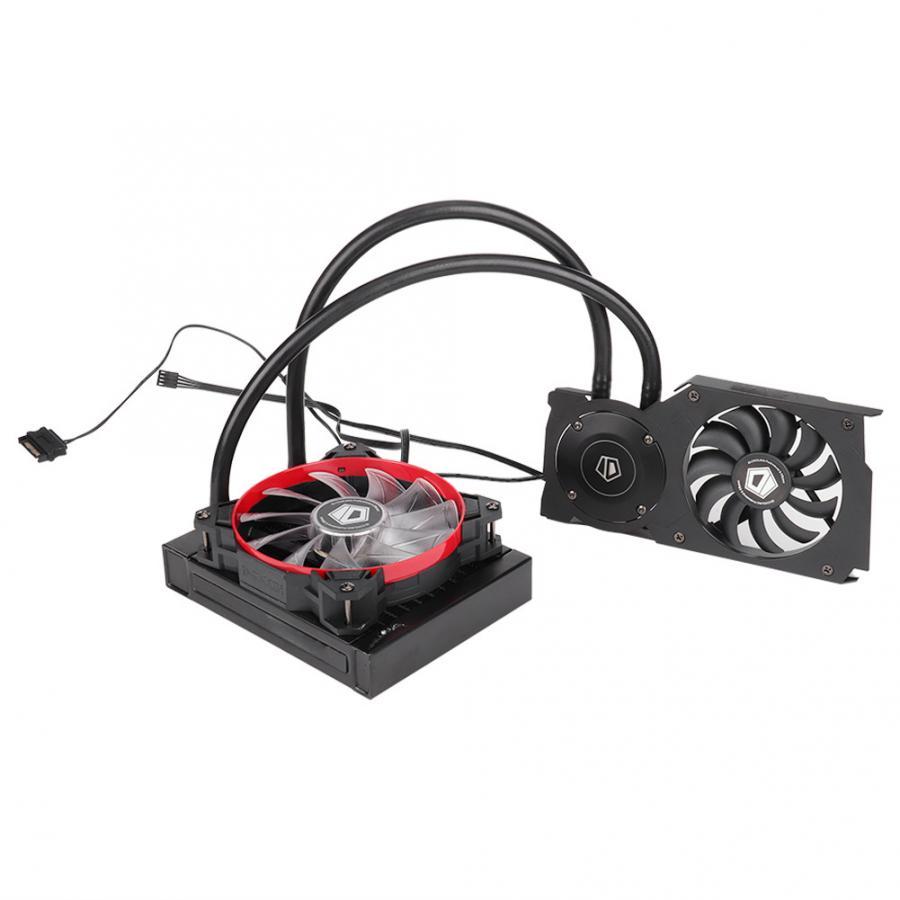 ID COOLING Frostflow 120VGA Videokaart Water Cooler CPU Radiator 12CM Koelventilator fan 2019-in Ventilatoren en koeling van Computer & Kantoor op AliExpress - 11.11_Dubbel 11Vrijgezellendag 1