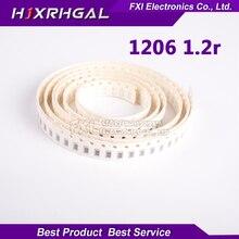 100PCS 1206 SMD Resistor  1.2 ohm chip resistor 0.25W 1/4W 1.2R 1R2 new original