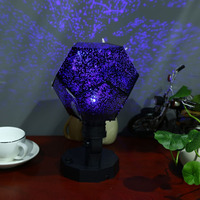 5th Generation Rotatable Star Projecting Lamp Light Romantic Science LED Lights EU Plug White Warm White
