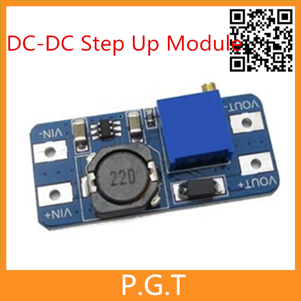 5ピースMT3608 dc-dcステップアップ電源適用モジュールブースター電源モジュール最大出力28ボルト2aためのarduino
